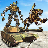 Furious Wild Tiger Robot Tank Robot Transform Game 1.0