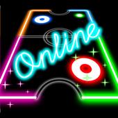 Glow Air Hockey Online 3.0