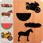 Puzzles Cars Animals Fruits Vehicles 1.0