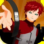 Ninja Gaara shinobi Power Game 1.0