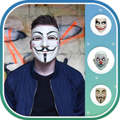 Anonymous Mask Photo Maker 1.0