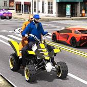 ATV Quad Bike: Modern City Taxi Driver 1.0