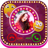 Color Phone Screen - Video Caller Screen - Emoji 1.0