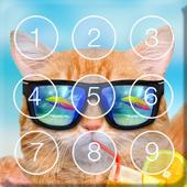 Funny Cat Kitty Cute Theme Screen Lock 1.0