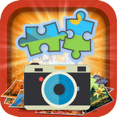 Scramble with Photos: Jigsaw