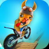 Dirt Bike Llama Stunt Rider 3D 1.0