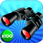 binoculars hd max camera zoom 2.1