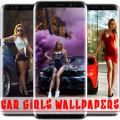 Sexy Car Girls Wallpapers HD 2019 1.0.0