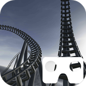 VR Snowy Roller Coaster