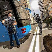US Police Bus Transport Prison Break Survival Game 4.0