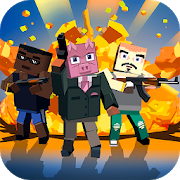 Blocky Shooter: Mafia War 1.0