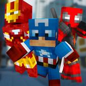 Blocky Super Hero Run 1.0