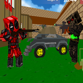 Blocky Wars 3D Toonfare Multiplayer 1.9
