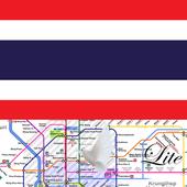 Bangkok Metro Boat Map Offline Lite メトロオフライン路線図 1