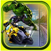 Super Hero Hulk Racing 1.0