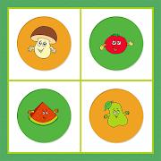 Fruits Vegetables Memory Match 1.1.1