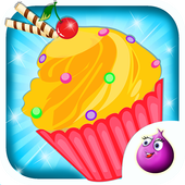 Make Cup Cakes - Kids Game 1.7