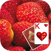 Solitaire Strawberry Theme 1.1