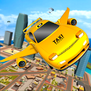 Flying Transforming Car Driving Sky City Taxi Game 1.0