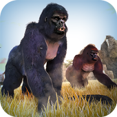 Wild Gorilla Monkey Run Game 1.0.0