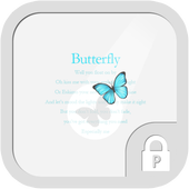Sky butterfly protector theme