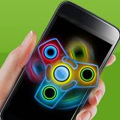 Fidget Hand Spinner Neon Glow 1.0