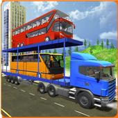 Bus Transporter Truck 2017 - City Bus Simulator