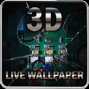 Broken Screen 3D Live Wallpaper 1.3