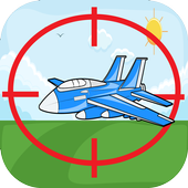 Sniper Sooting Plane Game