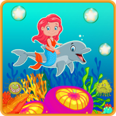 Guppies Mermaid And Dolphin 1.0