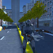 Soldier Robot AK47 2