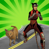 Multi Cat Girl VS Super Villains 1.0