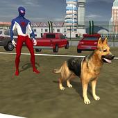 Spider Hero Police Dog Simulator 1.0