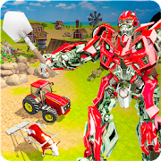 Super Robot Farmer Village Tractor Farming 1.0.6