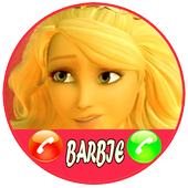 Fake Call From Barbie Princess Sweet 1.0