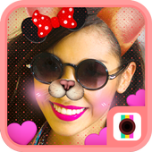 Doggy Face Camera-Funny Cute Doge Style Stickers