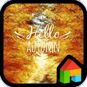 Hello Autumn dodol theme 4.2