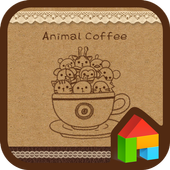 animal coffee dodol theme