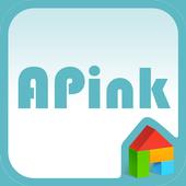 A-pink blue ver dodol theme 1.1