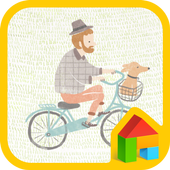 Bicycle LINE Launcher theme 4.1