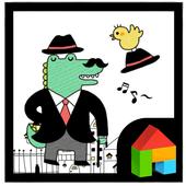 Crocodile Mr. Dada dodol theme