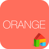 Kitsch Orange dodol Theme 4.1