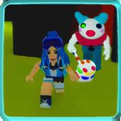 Funneh Cake  - Escape Clowny Piggy Obby craft Mod 1.0.12