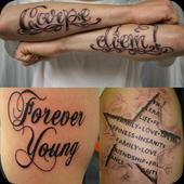 Tattoo Lettering 1.0