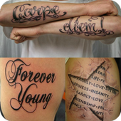 tattoo lettering 1 0 apk download android lifestyle apps. Black Bedroom Furniture Sets. Home Design Ideas