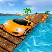 Car bridge crossing Game - Impossible Tracks 1.2