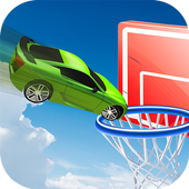 Car Basket Rocketball : Stunts on Ramp and Basket 1.0
