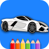 Cars And Trucks Coloring Book 2.1