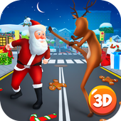 Christmas Cartoon Fighting 3DCartoon World GamesAction