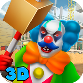 Creepy Clown: City Destruction 1.0